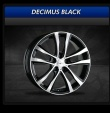 COM4WHEELS - DECIMUS BLACK