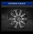 COM4WHEELS - OCTOPUS-X BLACK